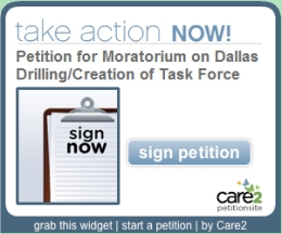 Sign petitions about important issues